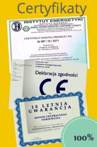 Certyfikat kotły co